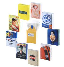 FSC bio degradable promotional tissue pack