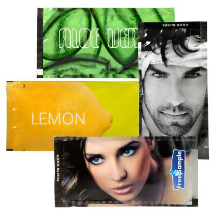 Satin soft refreshing wet wipes available in various fragrances